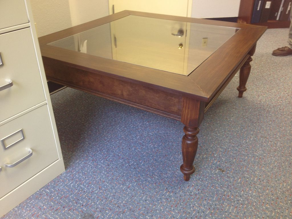 How to Build Glass Top Shadow Box Coffee Table | Shadow ...