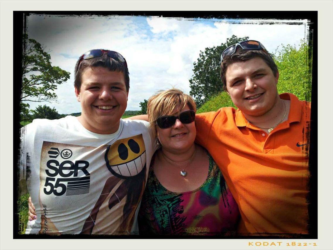 Mum and bro