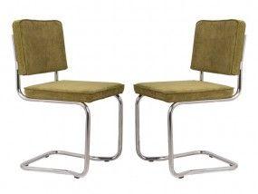 Grüne Küchenstühle ~ Ridge kink rib stuhl stühle freischwinger grüne möbel