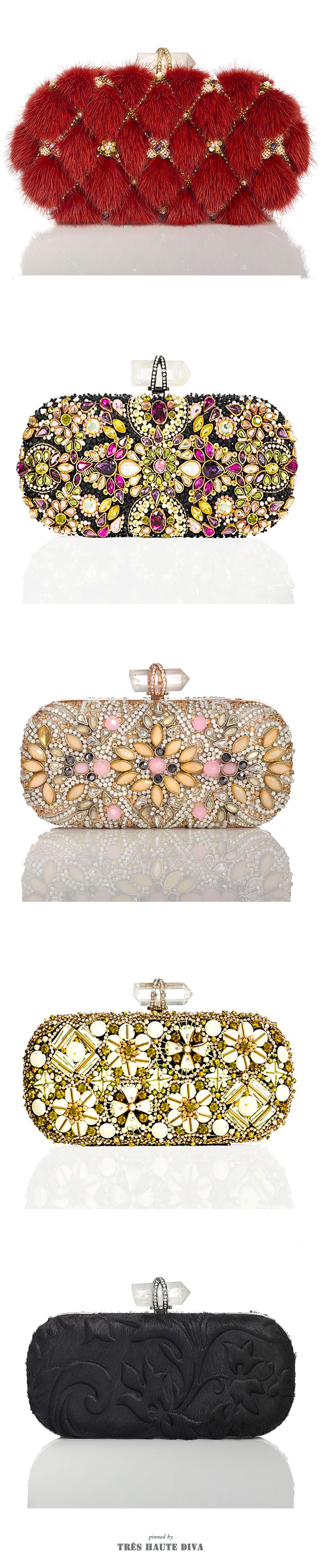 Marchesa Resort 2015 & Fall 2014 Evening Clutches