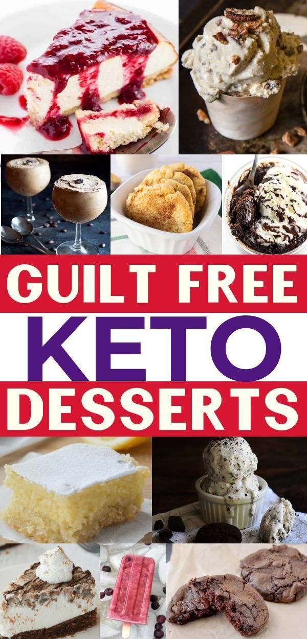 10 Keto Dessert Recipes For Weight Loss Code Red Pinterest