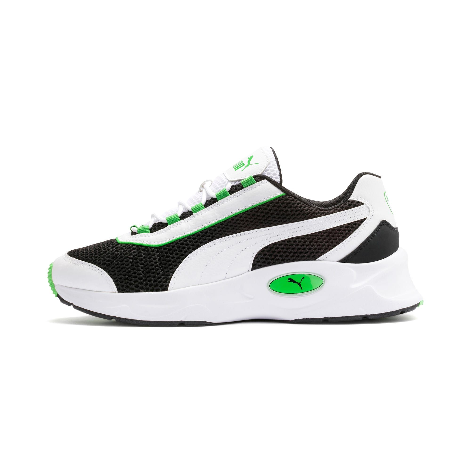 PUMA Nucleus Training Shoes in Black/Classic Green size 10.5