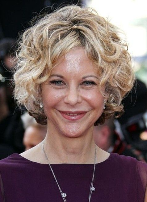 14++ Short curly hairstyles for older women trends