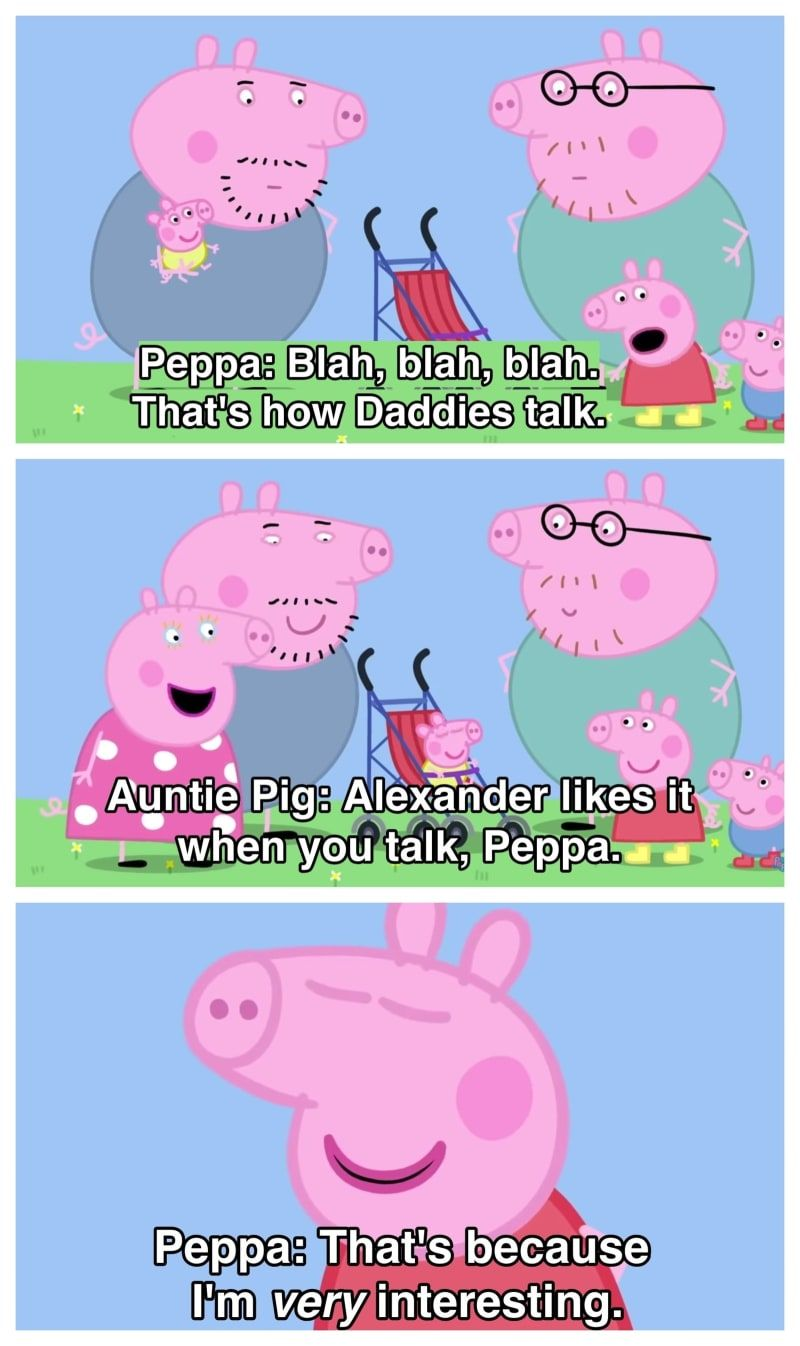 17 Times Peppa Pig Was Just An Absolute Savage Funny Peppa Pig