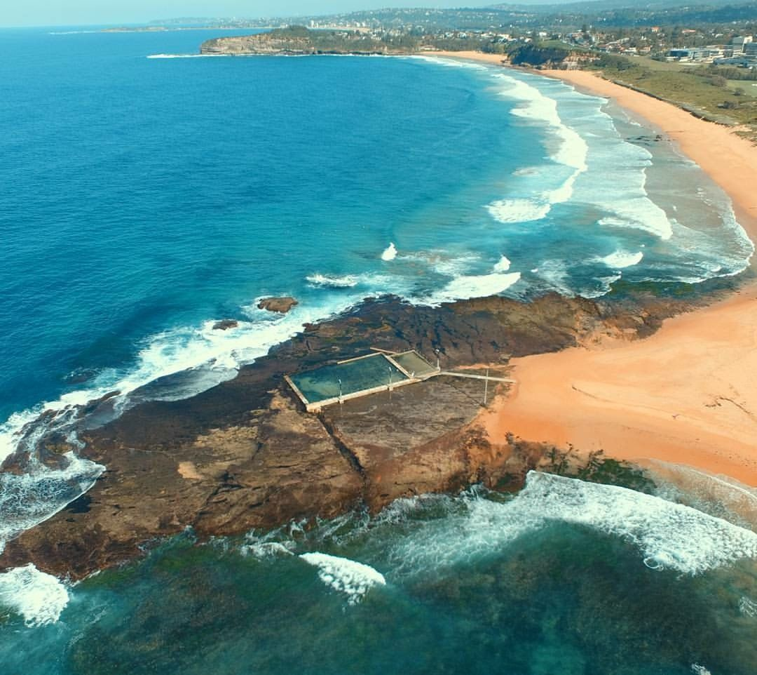 Mona Vale Beach Taken By Andrew Vincent Via Drone