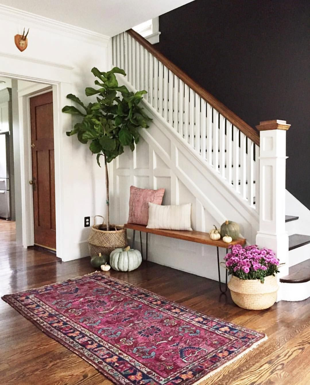 And this is just love the contrast carpendaughter beckiowensfeature   also best for our house images stairs basement rh pinterest