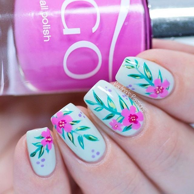 Nail Art For Beginners Without Tools: Easy No Tool Nail Art - Abstract Strokes