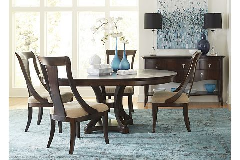astor park round dining table | havertys | painted furniture