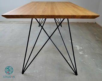 Stunning Live Edge Walnut Dining Table   Gambe del tavolo, Sala da ...