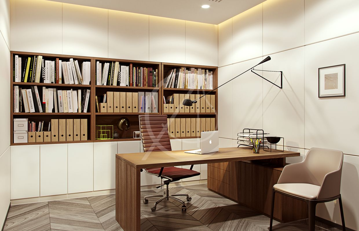 Modern Office Design For Administration Of East Capabilities Co