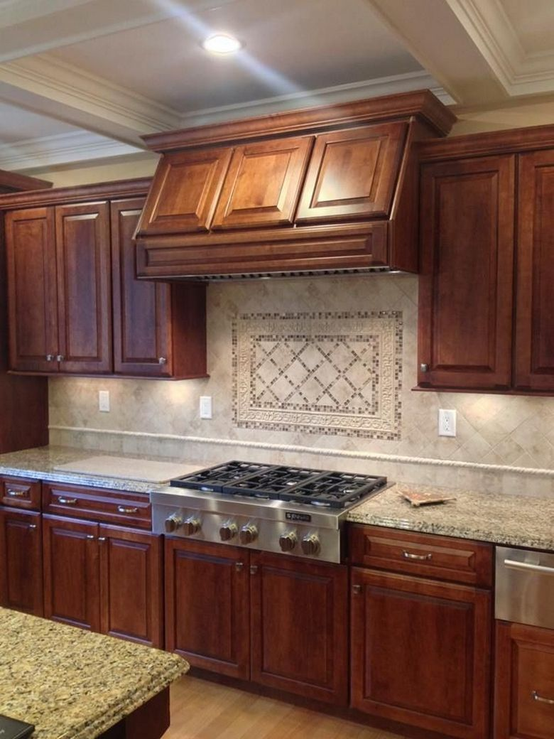 87 Ideas For Backsplash For Black Granite Countertops And ... on Maple Kitchen Cabinets With Black Granite Countertops  id=17672