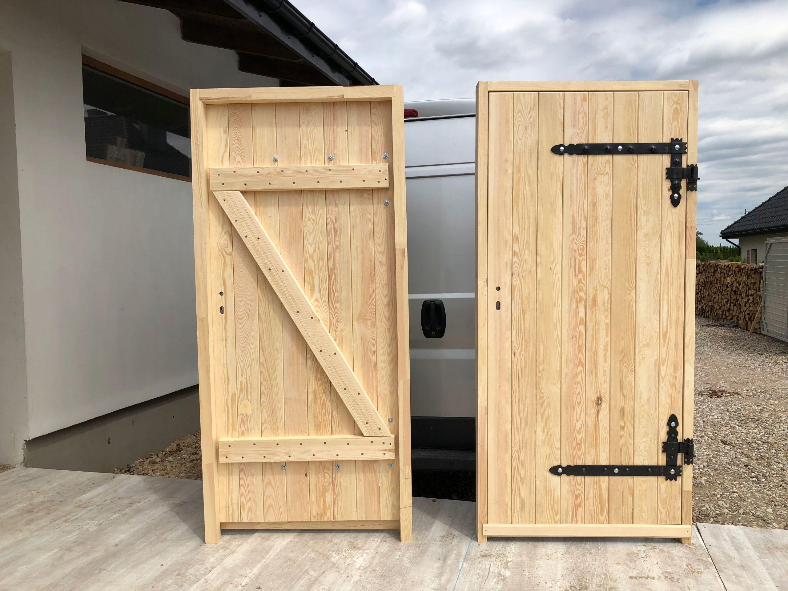 Kup Teraz Na Allegro Pl Za 1290 Zl Drzwi Zewnetrzne 100 Drewniane X I Zetka 7978497116 Allegro Pl Radosc Zakupow Tall Cabinet Storage Decor Home Decor