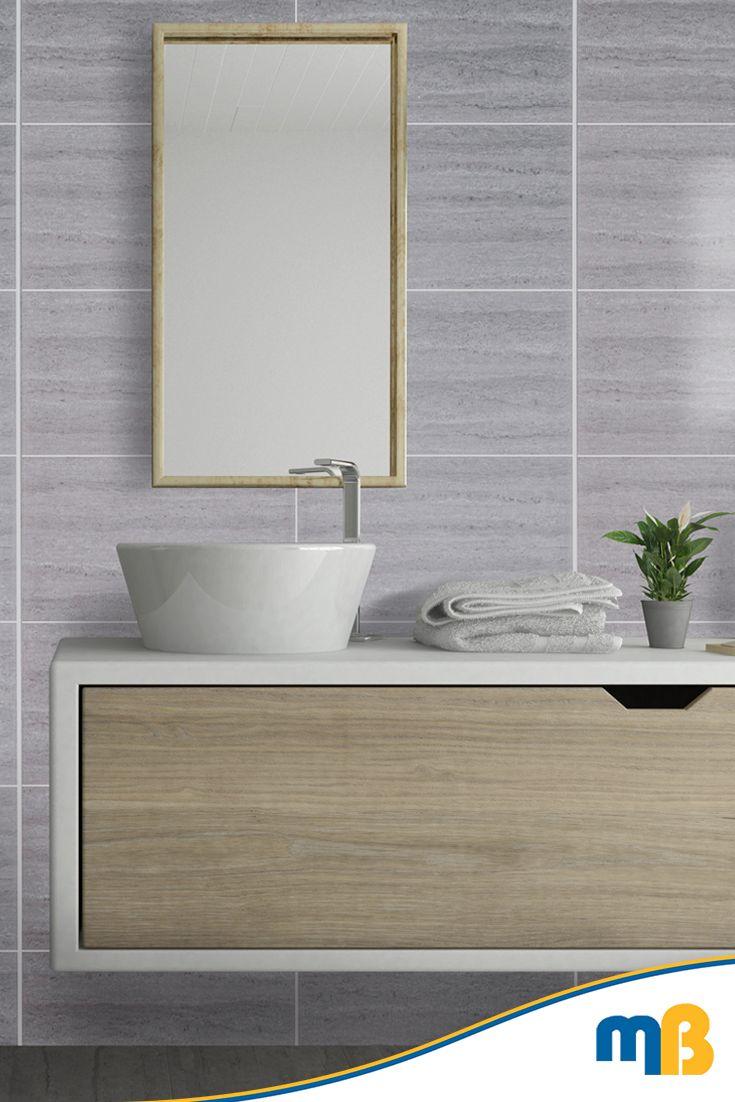 mb ultimo angus 500mm wide tile effect bathroom cladding