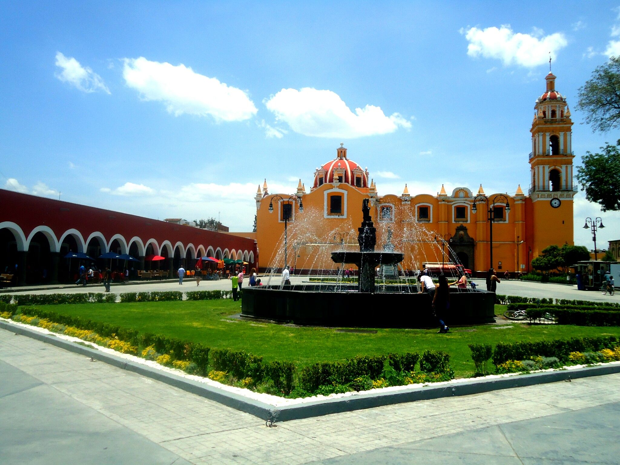Plaza De La Concordia plaza de la concordia, cholula, puebla   plaza