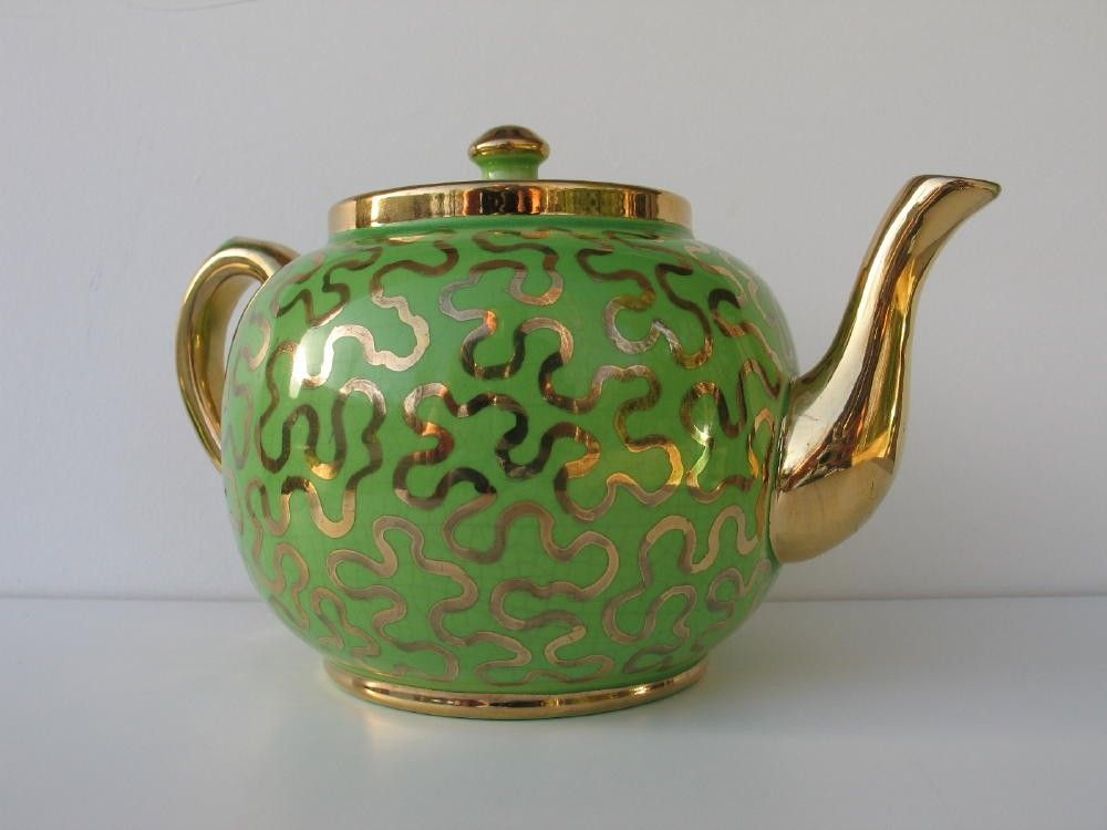 Antique Teapots Made in England | Vintage Teapot Sudlow's Burslem Made in England by ifindubuy