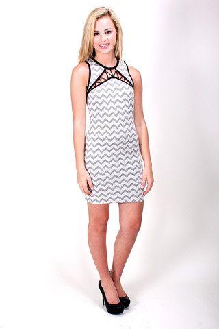 Jagged Line Dress 32 00 Dresses Clothes Fashion