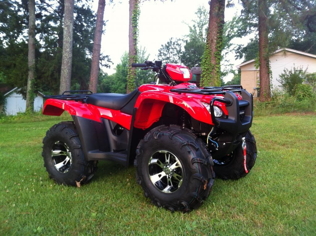 wheels and tires for honda 500 | 2013 Foreman 500 w/ 28 ...