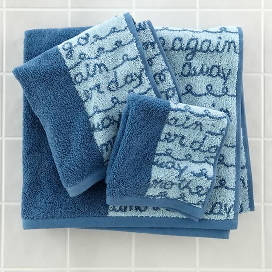Rain Rain Go Away Bath Towel Collection Kids Accessories - Teal decorative bath towels for small bathroom ideas