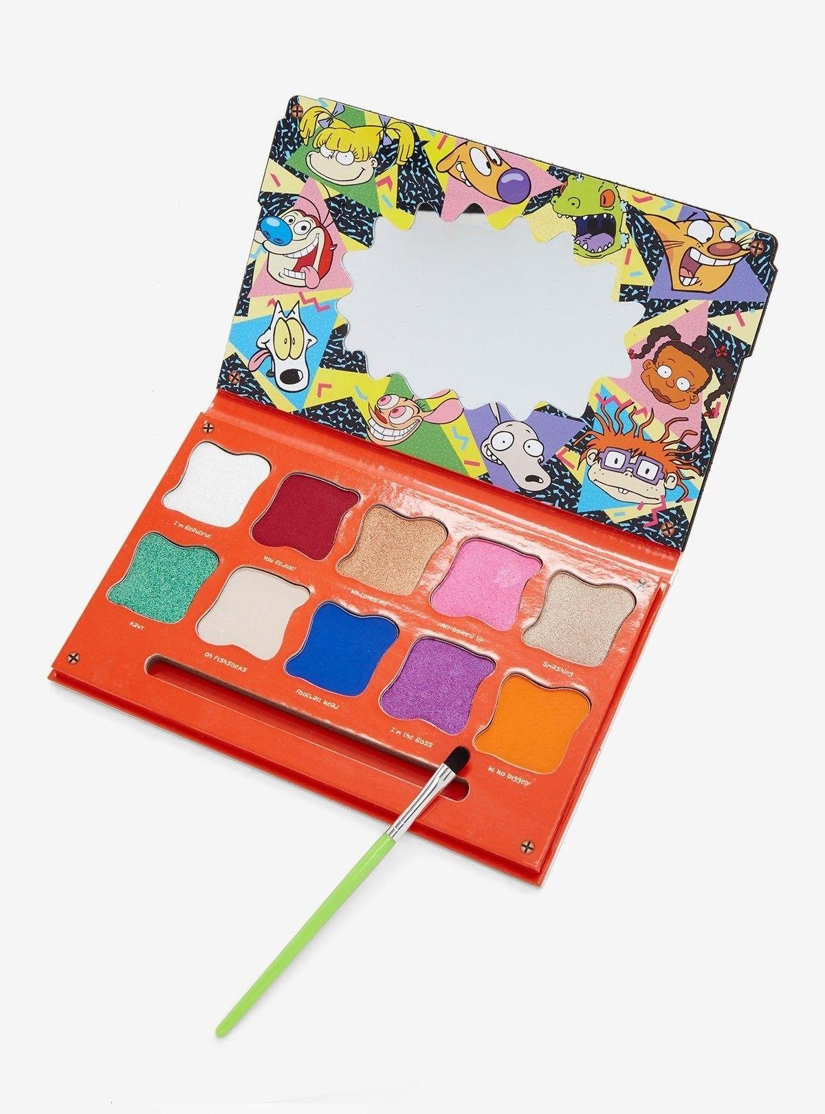 Hot Topic Nickelodeon Eyeshadow Palette Eyeshadow