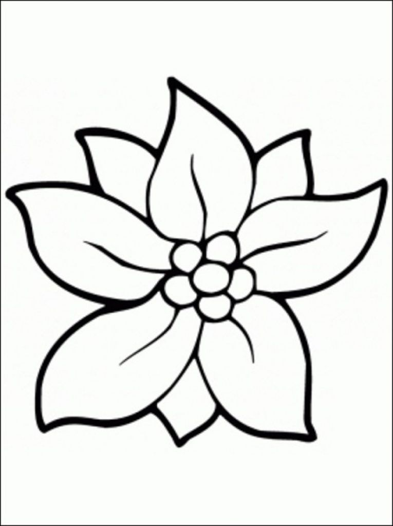 Print Download Some Common Variations Of The Flower Coloring Pages Flower Coloring Sheets Easy Coloring Pages Printable Flower Coloring Pages