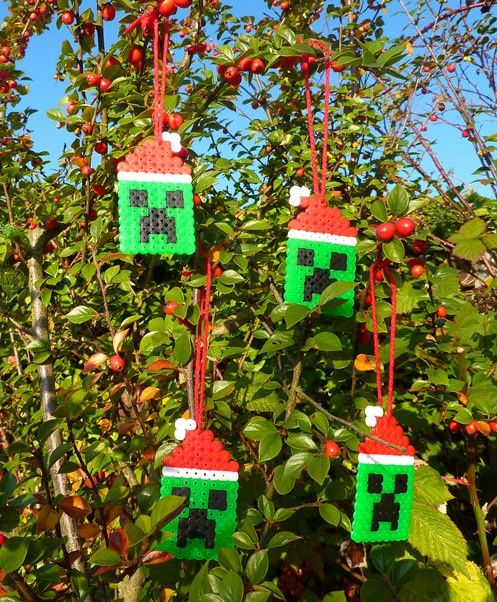Christmas Minecraft Decorations.Christmas Minecraft Creeper Minecraft Creeper Christmas