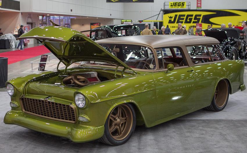 Gone Mad' '55 Chevrolet Nomad.   Rod's 'n Kustoms   Pinterest ...
