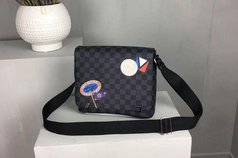 bbab5142d99b Louis Vuitton District Pm Damier Graphite N41054
