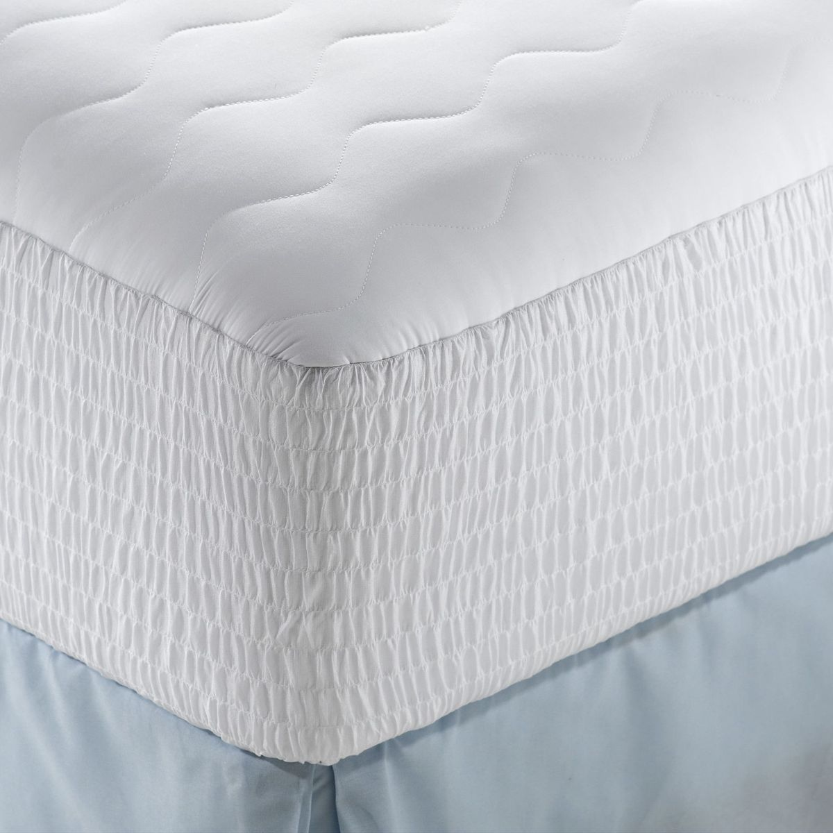 organic mattress encasement cover mattress pad and mattress