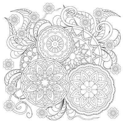 mandalas para imprimir dificiles adultos | bordado | Pinterest ...