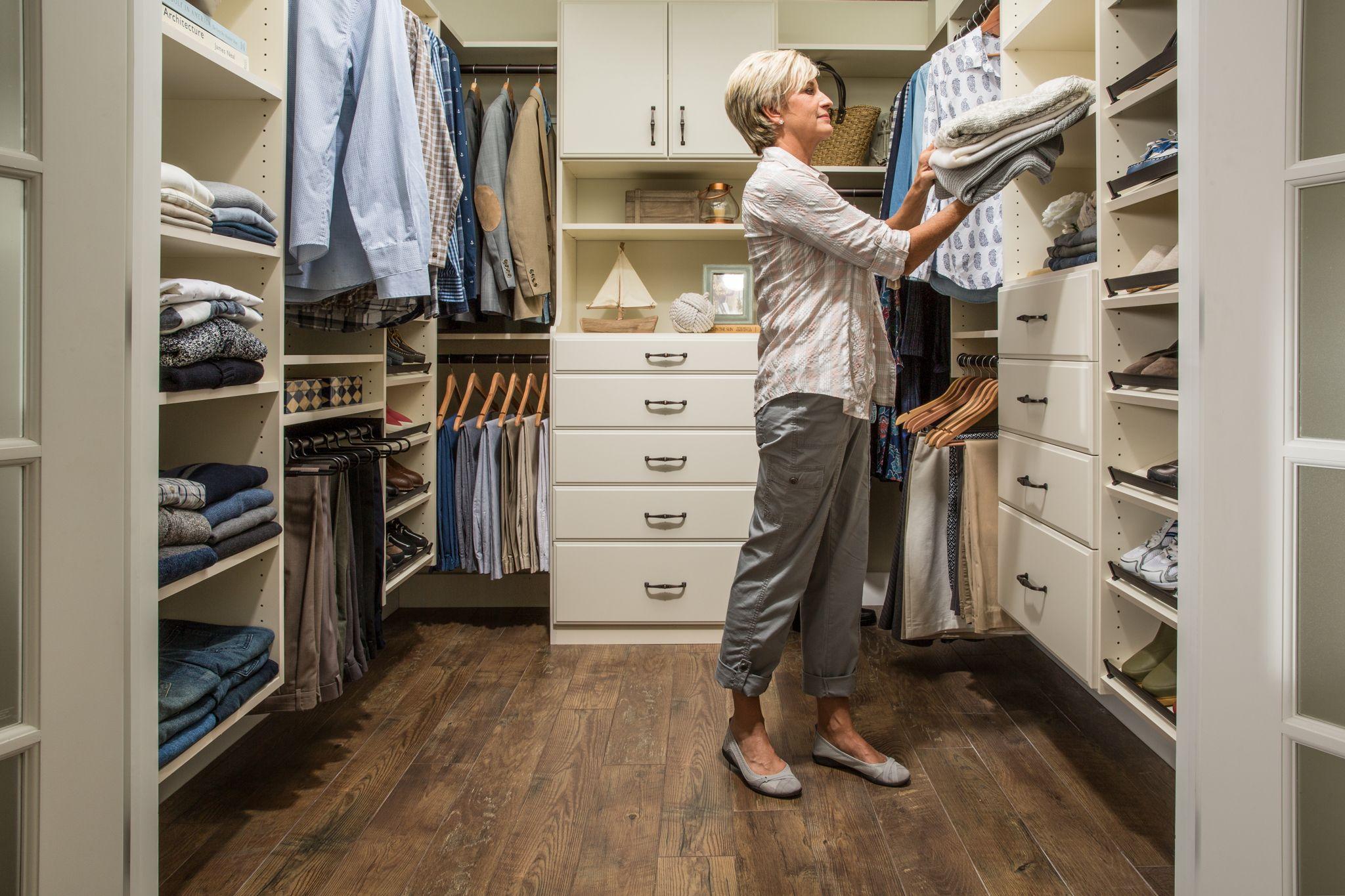Design A Custom Closet System Easyclosets Closet Design