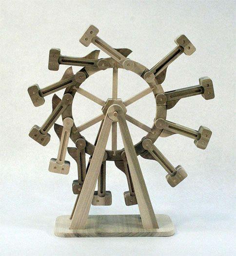 Perpetual Motion Machine The Classic Overbalanced Wheel Aka