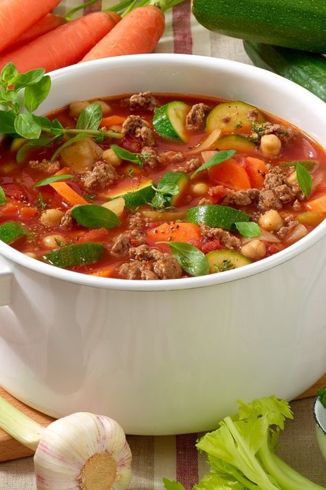 Photo of Einfach köstlich: Unsere Blitz-Suppe mit Hack