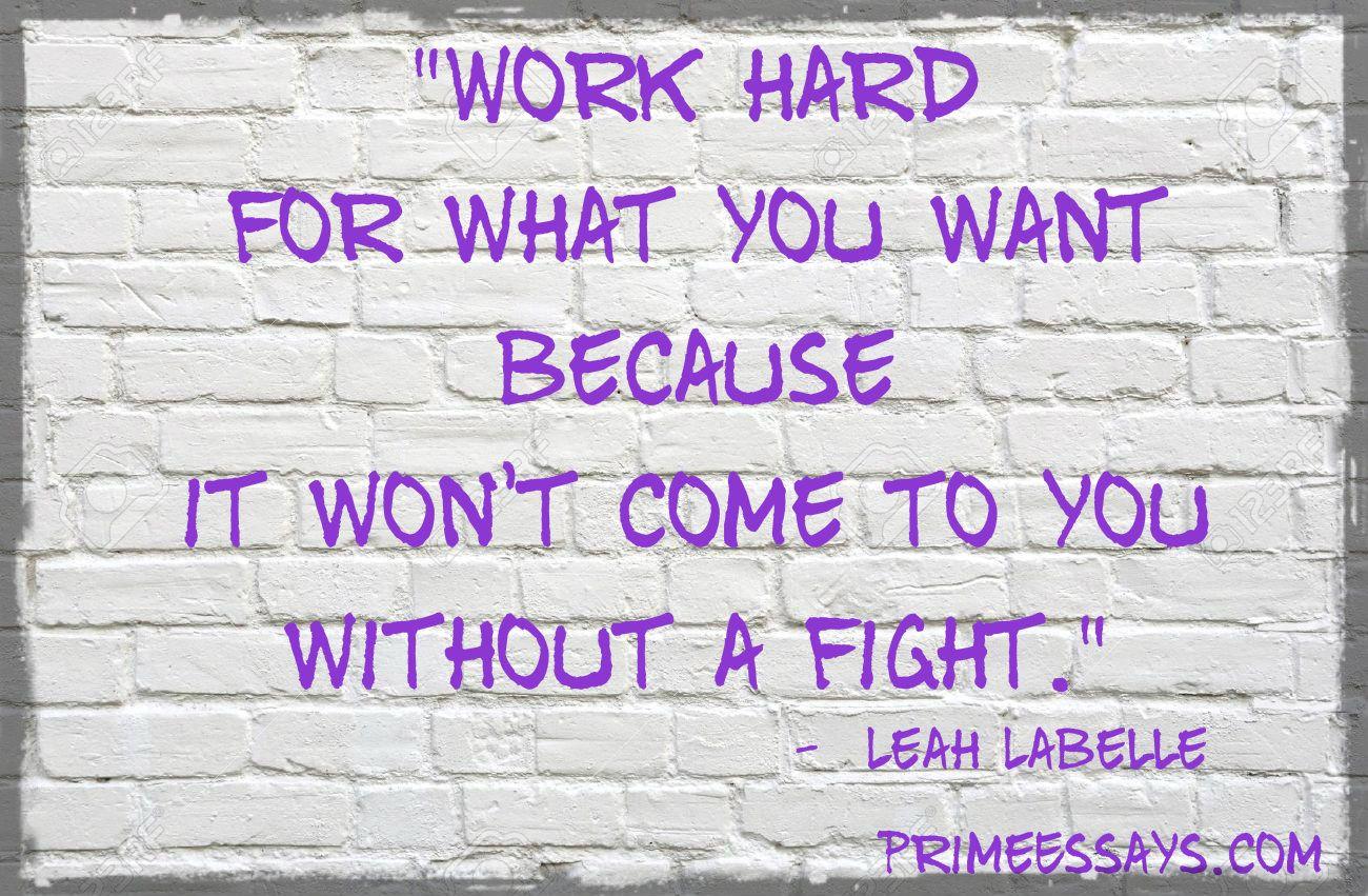 Hard Work Lead U To Our Dream Custom Writing Services Succes Essay