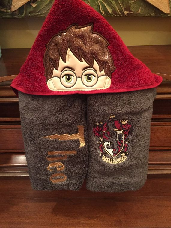 Harry Potter Hooded Towel Hooded Towels Towel Harry