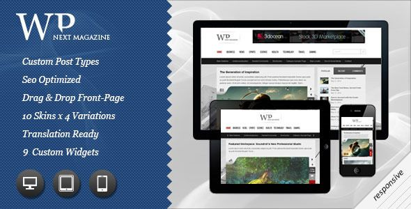 Download Next Responsive WordPress Magazine Blog | ThemesMe.com ...
