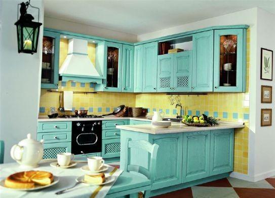 Arredamento in stile provenzale per la casa - Ua cucina in stile ...