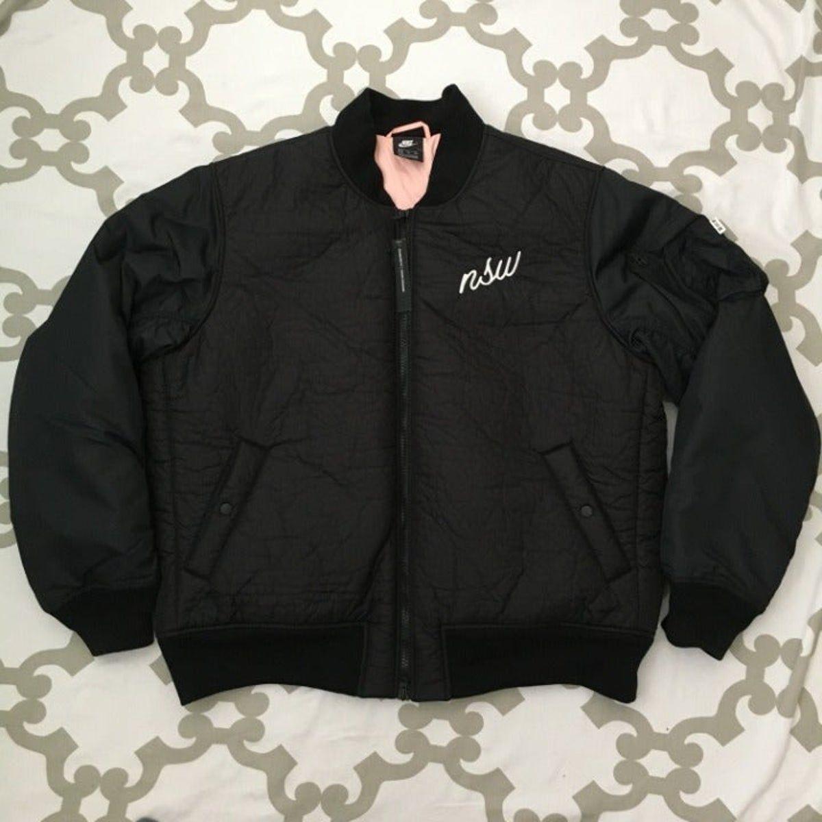 Pin By Aly Oliveira On Ideias Fashion Black Bomber Jacket Pink Jacket Bomber Jacket [ 1200 x 1200 Pixel ]