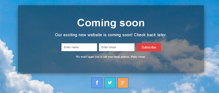 Here is the 10+ WordPress Under Construction / Coming Soon Themes ...