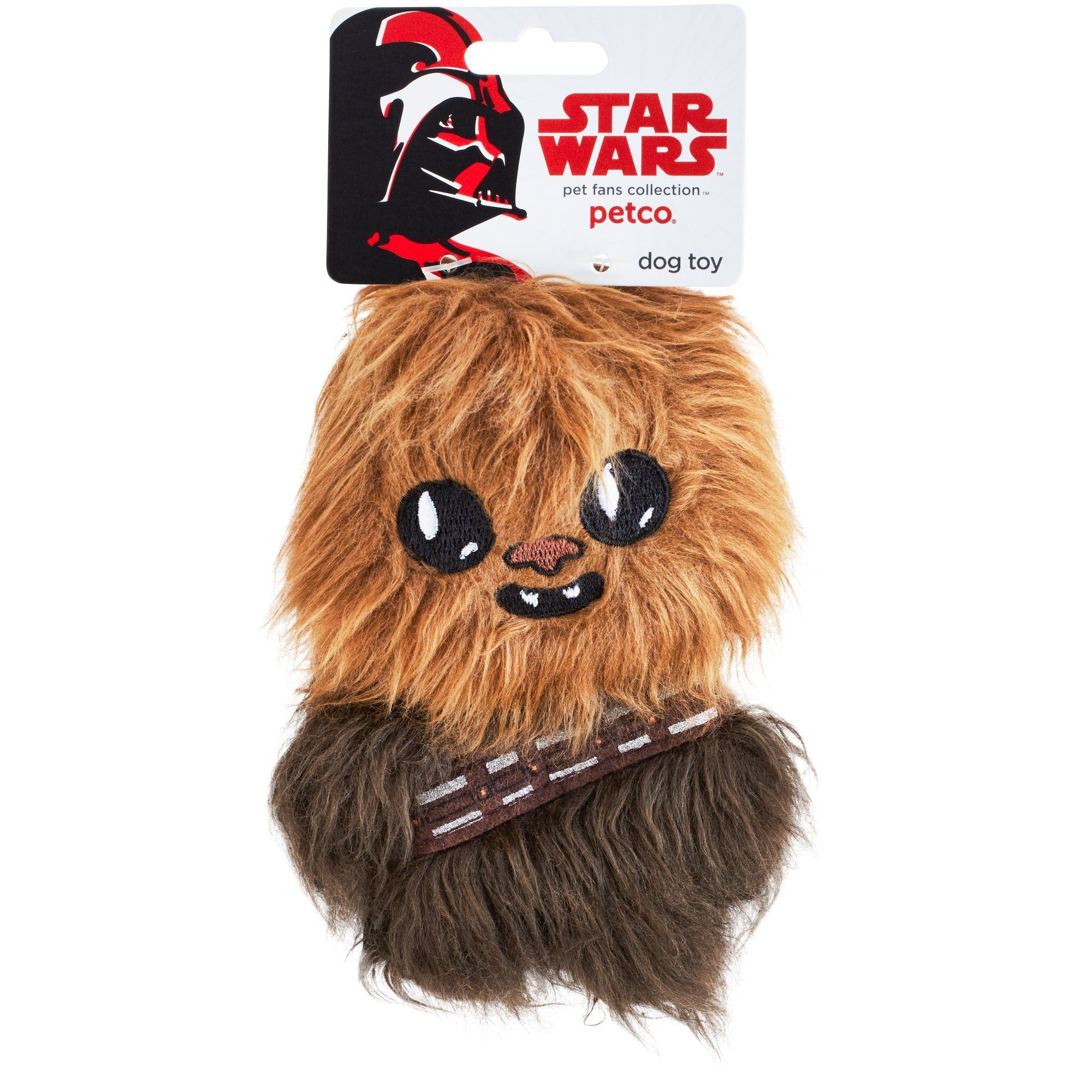 Star Wars Chewbacca Flattie Dog Toy 6 L By Petco For More