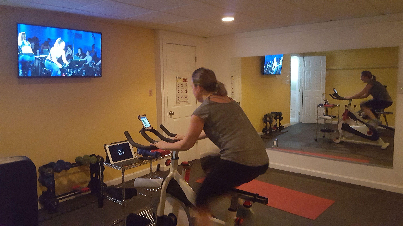 Me The Peloton App My Sunny Bike A Love Story Peloton Indoor Bike Workouts Biking Workout