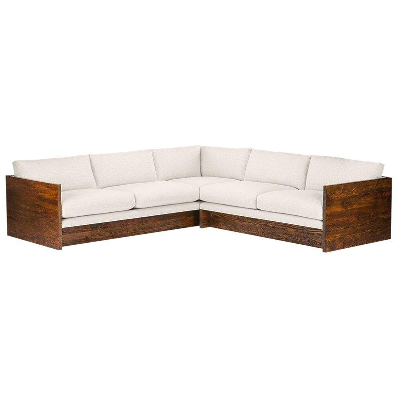 6d110fe3e5db Mid-Century Modern Norton Solid Wood Frame Sectional Sofa | Products ...