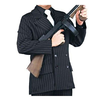 Gangster Costume Adult 20s Mobster Suit Al Capone Halloween Fancy Dress  sc 1 st  Pinterest & Gangster Costume Adult 20s Mobster Suit Al Capone Halloween Fancy ...