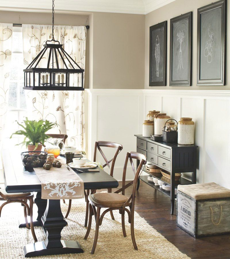 Rustic dining room  Dining Room Ideas  Dining room