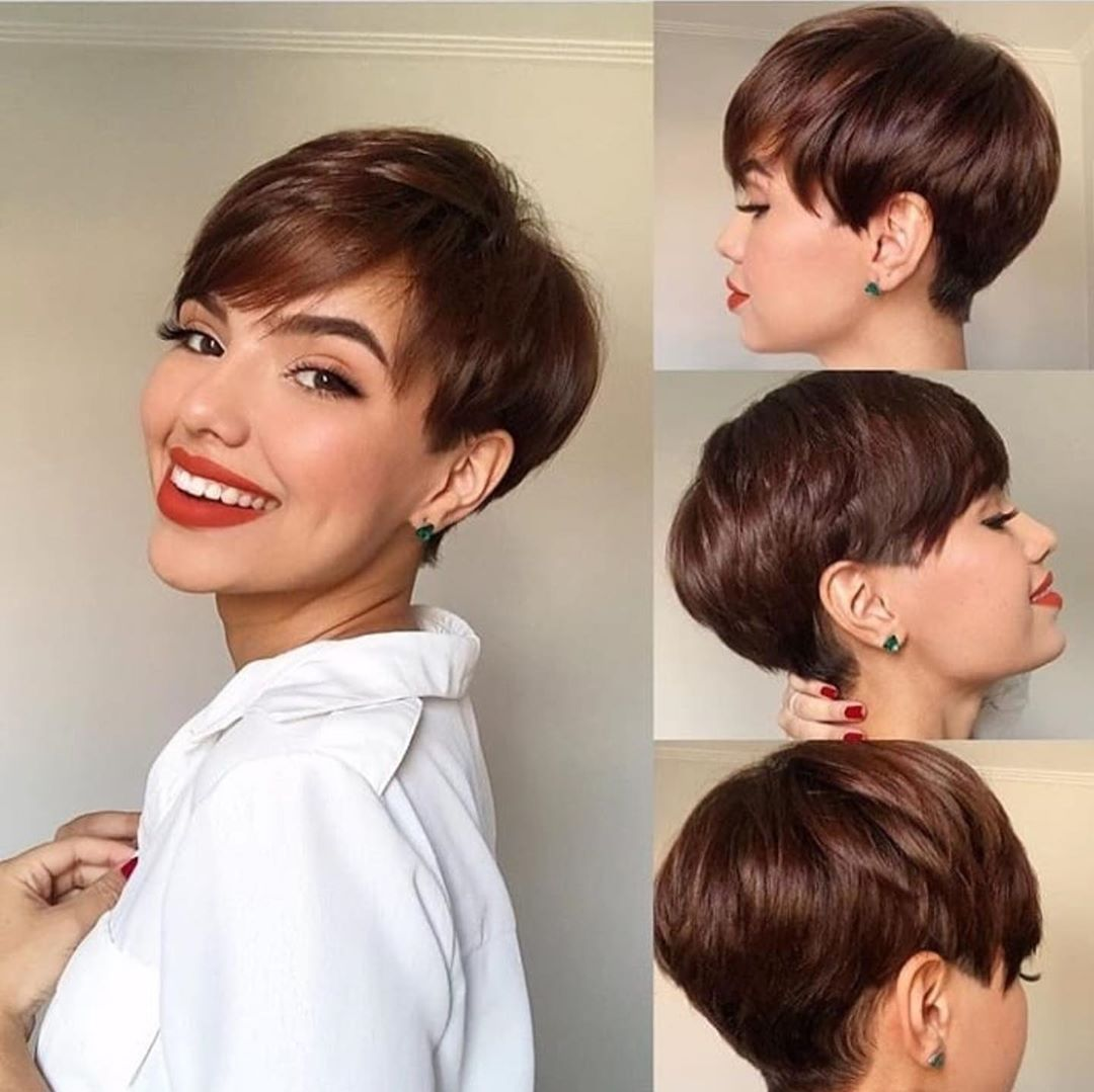 10 Chic Short Pixie Haircut & Color Options for Fa