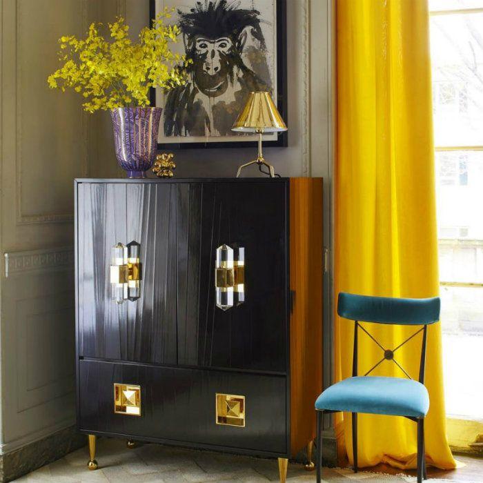 #Wohnzimmer Designs Zeitgenössischer Stil Im Design Von Jonathan Adler  #Germany #Home #Holzbearbeitung #Home #Trend #Designs #Sitze #Moderne  #Dekor #Häuser ...