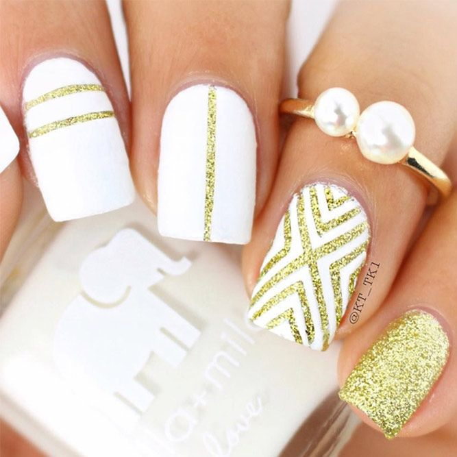 21 Stylish and Fun Designs for Short, Classy Nails That You Will ...