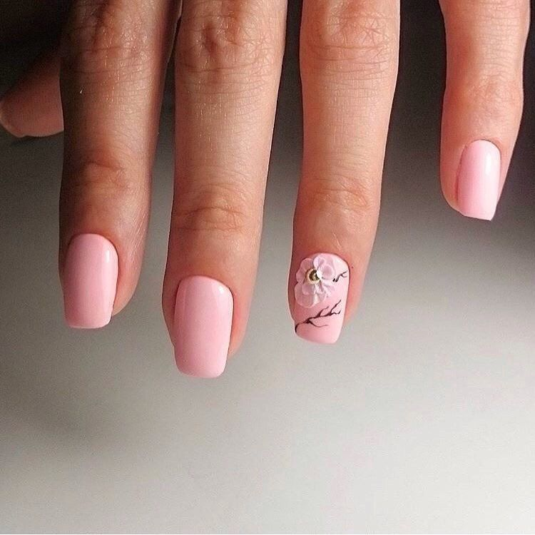 Nail Art #2269 - Best Nail Art Designs Gallery | Plain nails, Prom ...