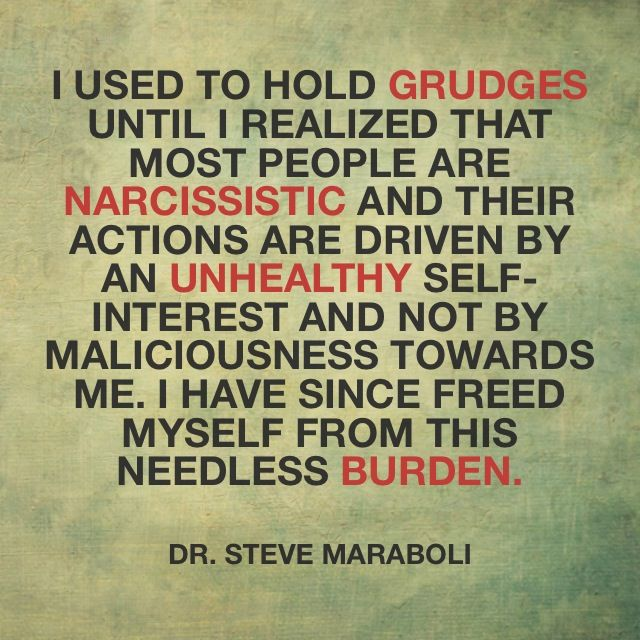"Love Finds You Quote: ""I Used To Hold Grudges Until I Realized That Most People"