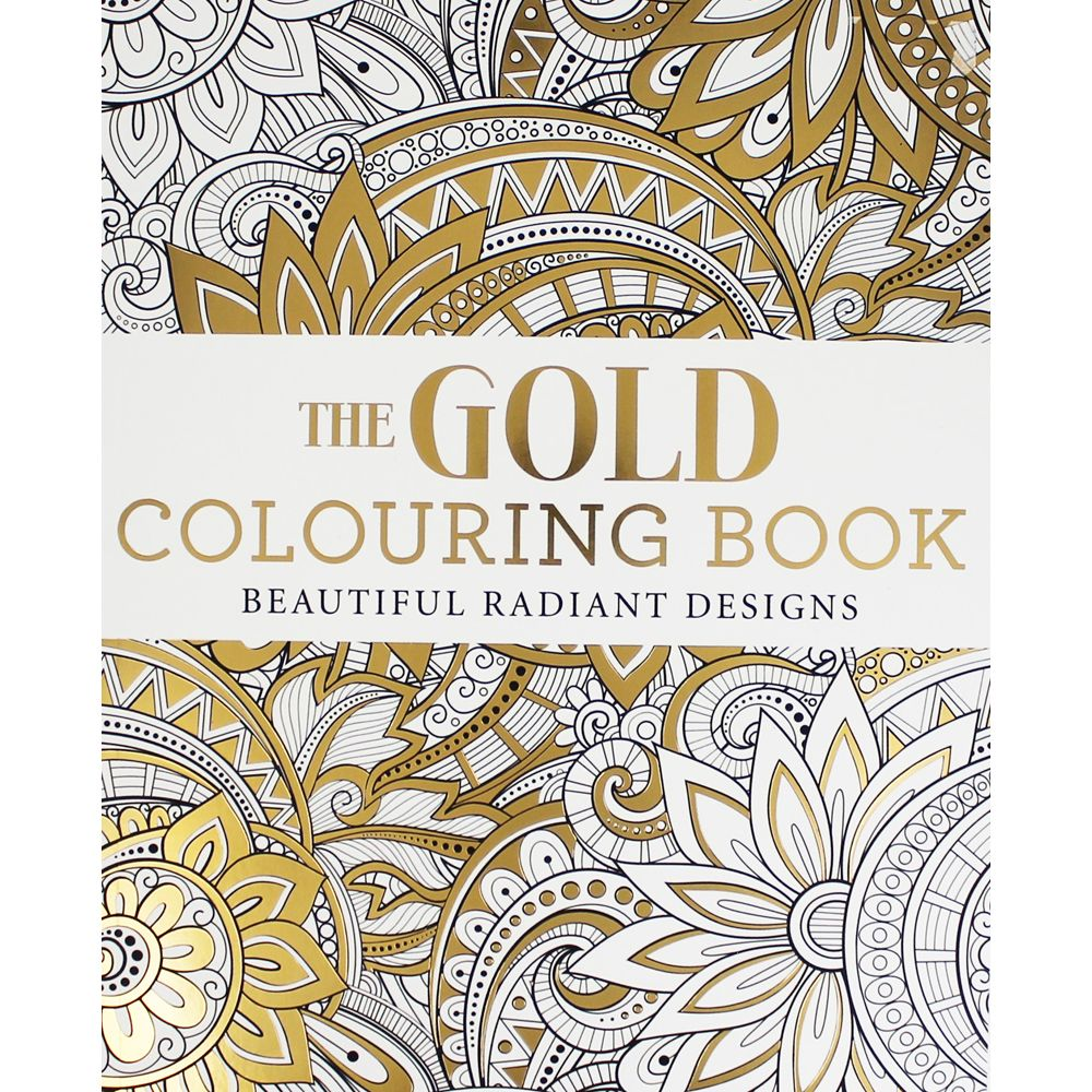Colouring book on online - Buy The Gold Colouring Book Online From The Works Visit Now To Browse Our Huge