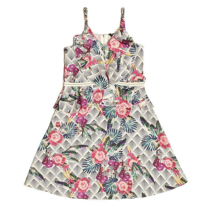 5faf88f3c6e9 Φόρεμα εμπριμέ Guess για κορίτσι To Φόρεμα εμπριμέ Guess για κορίτσι είναι  το φλοράλ φόρεμα με
